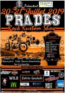 Rock Kustom Show - Prades (66) @ Prades (66)