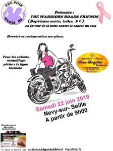 The Warriors Roads Friends - The Pink Warriors - Nevy-sur-Seille (39) @ Nevy-sur-Seille | Bourgogne-Franche-Comté | France