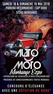 Auto Moto Morhange Expo - Morhange (57) @ Parking Intermarché - Cap 3000 | Morhange | France
