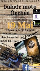 Balade moto fléchée - Isbergues (63) @ Place Lamartine | Isbergues | Hauts-de-France | France
