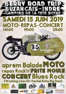 Berry Road Trip - Buzançais (36) @ Camping de la tête noire | Buzançais | Centre-Val de Loire | France