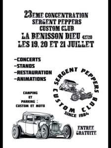 23 ème concentration Sergent Peppers Custom Club - La Bénisson-Dieu (42) @ Loire | La Bénisson-Dieu | Auvergne-Rhône-Alpes | France