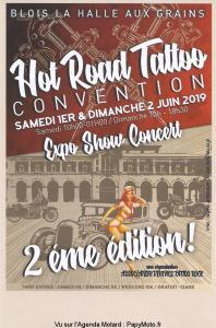Hot Road Tattoo Convention - Blois (41) @ La Halle aux grains | Blois | Centre-Val de Loire | France