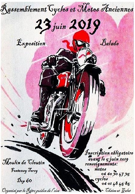 Rassemblement 2 roues anciens - Fontenay-Torcyb bu (60)