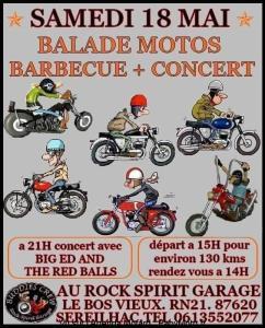 Balade Moto - Buddies Crew - Sereilhac (87) @ Rock Spirit Garage | Séreilhac | Nouvelle-Aquitaine | France