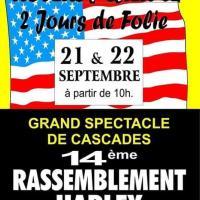 14e Rassemblement Harley et voitures Américaines - Noyers sur Cher (41)