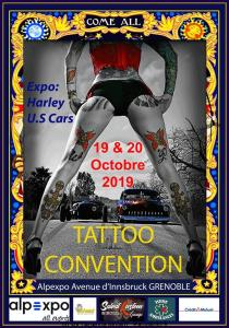 6e Grenoble Tattoo Convention - Grenoble (38) @ Alpexpo | Grenoble | Auvergne-Rhône-Alpes | France
