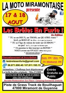 Les Brêles En Furie! - La Moto Miramontaise -Miramont-de-Guyenne (47) @ Miramont de Guyenne   Miramont-de-Guyenne   Nouvelle-Aquitaine   France