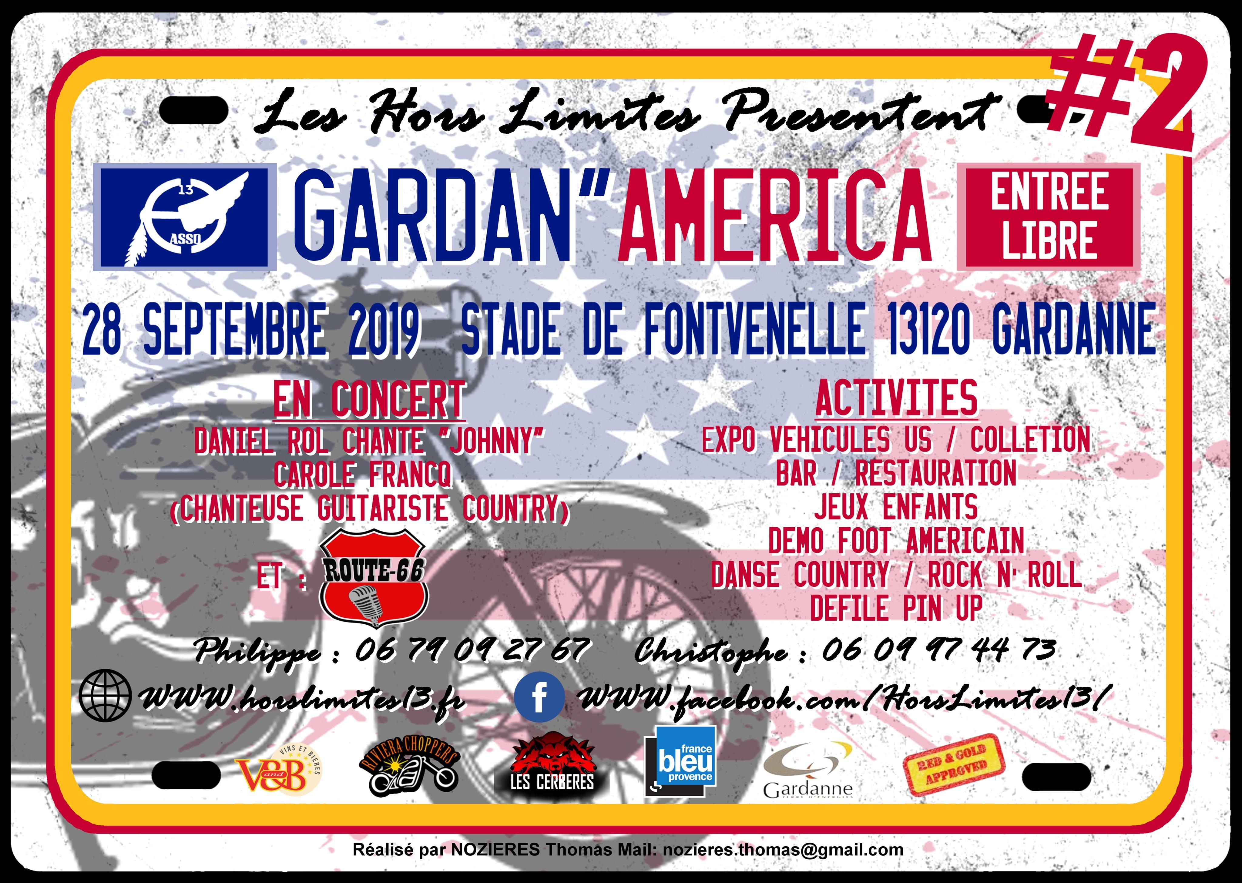 Gardan'América journée américaine – Gardanne (13)