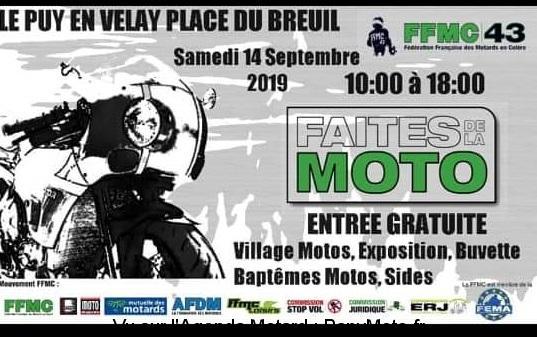 Faites de la Moto – Le Puy en Velay (43)