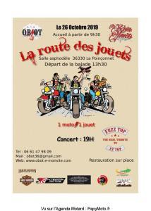 La route des jouets – Le Poinçonnet (36) @ Salle asphodèle | Le Poinçonnet | Centre-Val de Loire | France