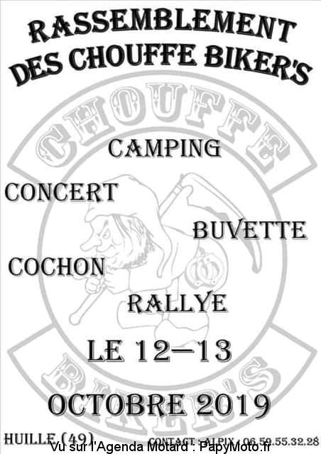 Rassemblement des Chouffe Biker's – Huillé (49)