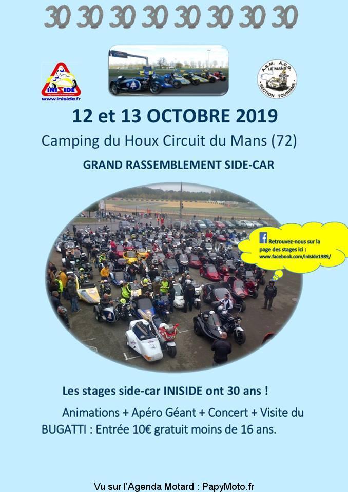 Rassemblement side-car – Le Mans (72)