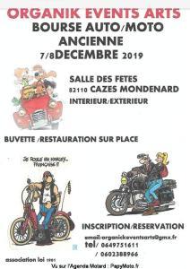 Bourse auto/moto ancienne - Cazes Mondenard (82) @ Salle des Fêtes | Cazes-Mondenard | Occitanie | France