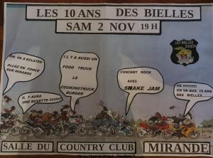 Les 10 Ans des Bielles - Les Biells d'Auch - Mirande (32) @ Mirande | Occitanie | France
