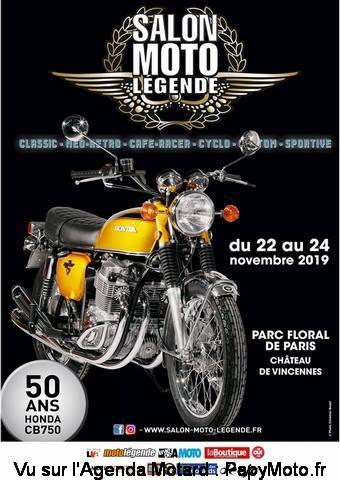 Salon Moto Légende – Paris (75)