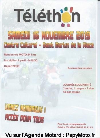 Téléthon – Saint Martin de la Place (49)