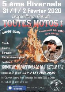 5e Hivernale - Liberty Rider - Genouillé (17) @ Etang des Rosées | Genouillé | Nouvelle-Aquitaine | France