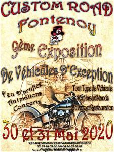 9ème exposition de véhicules d'exception - Custom Road - Fontenoy (02) @ Fontenoy   Hauts-de-France   France