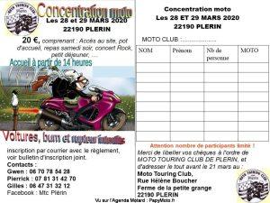 Concentration - Moto Touring Club -Plérin (22) @ Ferme de la Petite Grange | Plérin | Bretagne | France