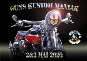 Guns Kustom Maniak 9eme édition - Irigny (69) @ Centre culturel de Champvillard   Irigny   Auvergne-Rhône-Alpes   France