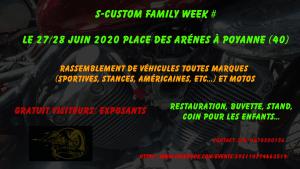 S-custom family week # - Poyanne (40) @ place des arènes à poyanne   Poyanne   Nouvelle-Aquitaine   France