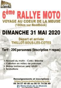 6e Rallye Moto - Thillot sous les Cotes (55)