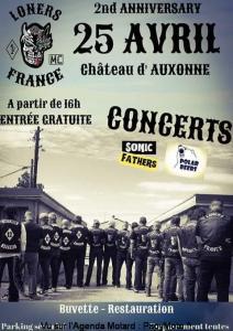 Anniversaire - Loners - Auxonne (21) @ LE CAVEAU DU CHATEAU D'AUXONNE