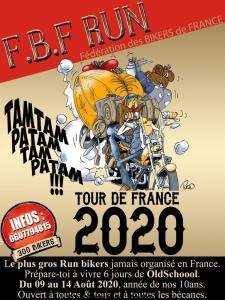 Le FBF Run Bikers tour de France (Go to the Hell's Week) - Bagnolet (93) @ Bagnolet to Roquebrune-sur-Argens