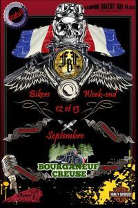 Le Bikers WE organisé par la FBF - Bourganeuf  (23) @ Bourganeuf - 23400