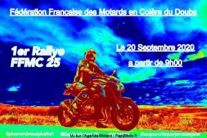 1er Rallye FFMC 25 - Besançon (25) @ Besançon (25)