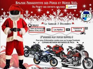 Balade associative des Pères et Mères Noël - Salon de Provence (13) @ Salon de Provence (13)