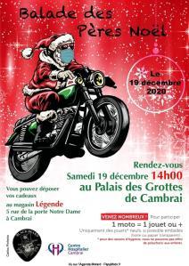 Balade des Pères Noël - Cambrai (59) @ Cambrai (59)