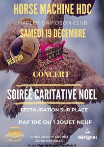 Soirée Caritative Noël - Horse Machine HDC - Mérignac (33) @ Mérignac (33)