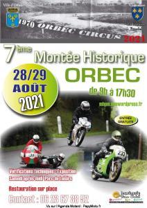 7e Montée Historique - Orbec (14) @ Orbec (14)