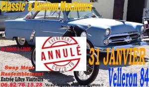 Classic' Moto Auto bourse et rassemblement - Velleron (84) ----ANNULE---- @ Velleron 84740