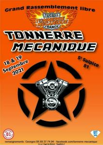 Grand rassemblement libre - Tonnerre Mécanique - Saint Sulpice (81) @ Saint Sulpice (81)