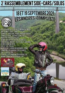 2e Rassemblement side-cars /solo - Las Ancizes-Comps (63) @ - Las Ancizes-Comps (63)