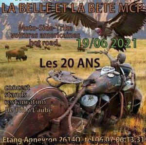 Les 20 Ans - La belle et la bête – Anneyron (26) @ Anneyron (26)