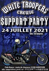Support Party - White Troopers - Aubusson (23) @ Aubusson (23)