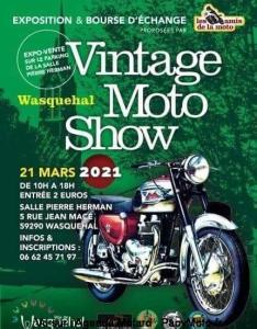 Vintage Moto Show - Wasquehal (59) @ Wasquehal (59)