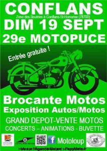 29e Motopuce - Conflans-Saint-Honorine (78) @ Conflans (78)