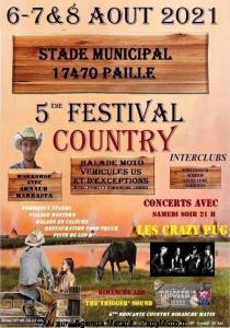 5e Festival Country - Paille (17) @ Paille (17)