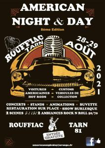 Américan Night & Day – Rouffiac (81) @ Rouffiac (81)