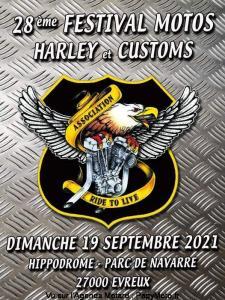 28e festival motos Harley & Customs - Evreux (27) @ Evreux (27)