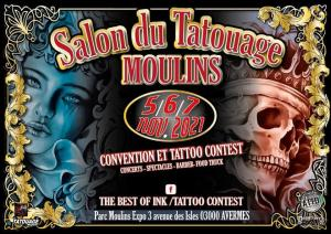 Salon du Tatouage - Moulins (03) @ Moulins (03)