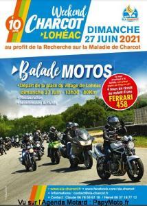 Balade Motos -week-end Charcot - Lohéac (35) @ Lohéac (35)