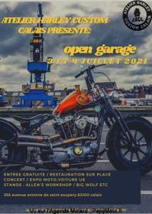 Open Garage - Atelier Harley Custom Calais - Calais (62) @ Calais (62)