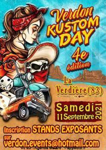 Verdon Kustom Day – La Verdière (83) @ La Verdière (83)