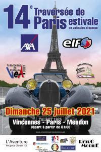 14e Traversée de Paris Estivale - Paris (75) @ Paris (75)